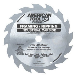 "Irwin 15120 6-1/2"" 24T Framing & Ripping Circular Saw Blade"
