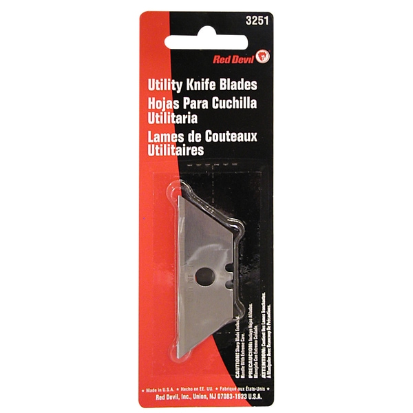 Red Devil 3251 5 Pack Utility Knife Blades