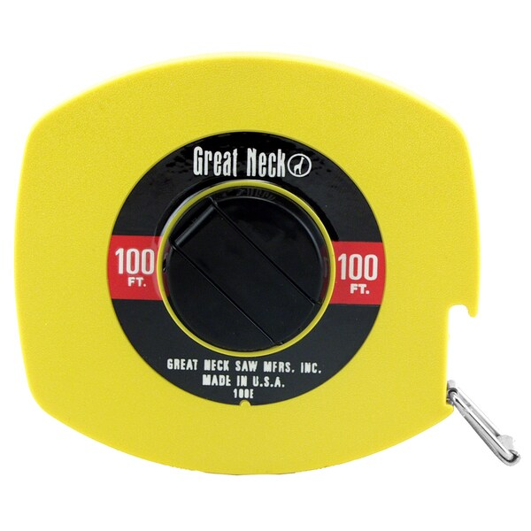Great Neck 100E 100' Steel Tape