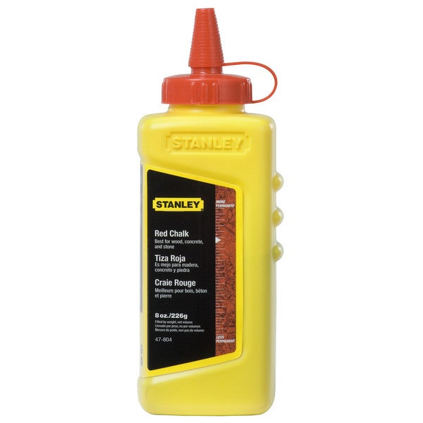 Stanley Hand Tools 47-804 8 Oz Red Chalk Refill