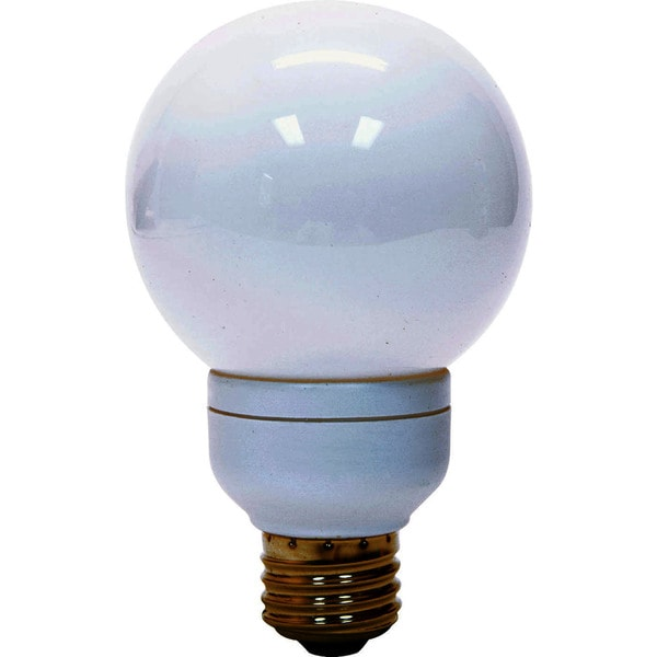 GE Lighting 47484 11W Energy Smart G25 Compact Fluorescent Globe Light Bulb