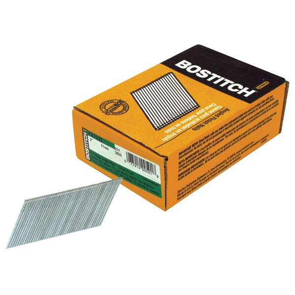 "Bostitch Stanley FN1532 3,655-count 2"" 15 Gauge Angled Finish Nails"