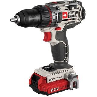 """Porter Cable PCC606LA 1/2"""" 20 Volt Drill"""