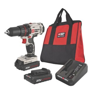 "Porter Cable PCC601LB 20 V Max 1/2"" Lithium Ion Cordless Drill & Driver"
