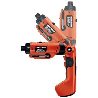 Black & Decker Power Tools PD600 6 Volt PivotPlus All-In-One Cordless Drill
