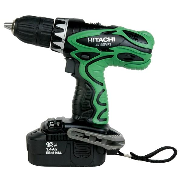 Hitachi DS18DVF3M 18 Volt Cordless Driver Drill