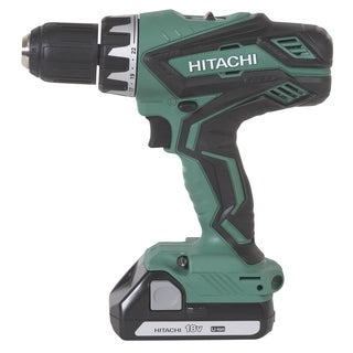 Hitachi DS18DGL 18 V Lithium-Ion Compact Driver Drill