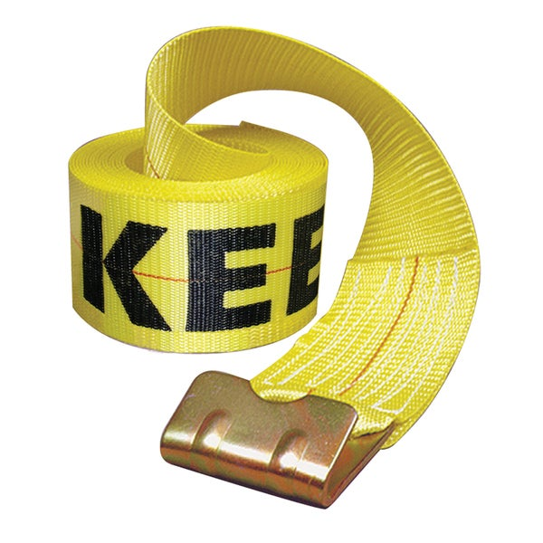 Keeper 04926 Winch Strap With Flat Hook
