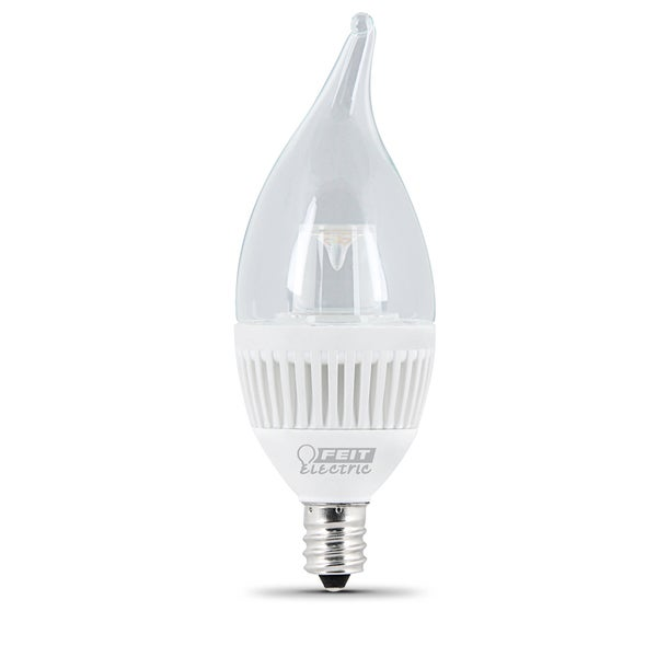Feit Electric CFC/DM/300/LED 4-4/5 Watt Soft White Dimmable Candelabra LED Bulb