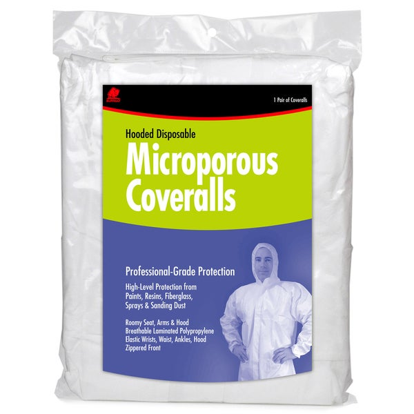 Buffalo 68256 Extra Extra Large Microporous Coveralls
