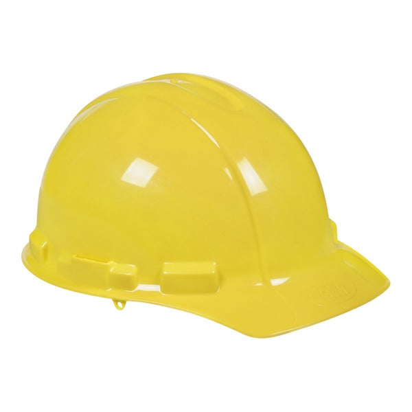 3M 91298-80025T Yellow TEKK Protection Hard Hat With Ratchet Adjustment
