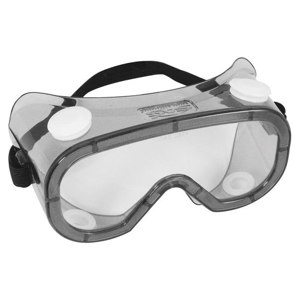 SAS Safety Corporation 5109 Polycarbonate Safety Chemical Splash Goggles