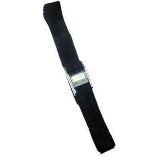 CLC Work Gear WS12 12' Black Strap-It Tie-Down Straps