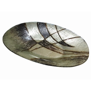 D'Lusso Designs Large Candice Oval Plate