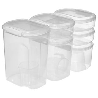 Sistema Bake It Clear Storage Set 9pk