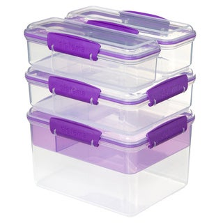 Sistema Klip It Snack Attack Storage Ware 4-pack