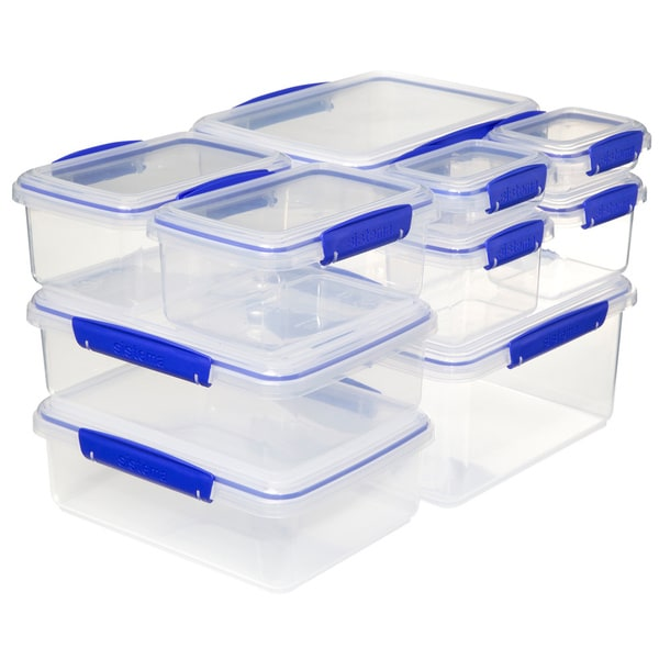 Sistema Klip It Storage Ware Value Pack 8pk