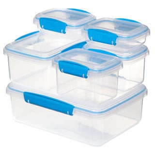 Sistema Accents Rectangular Storage Ware 6pk