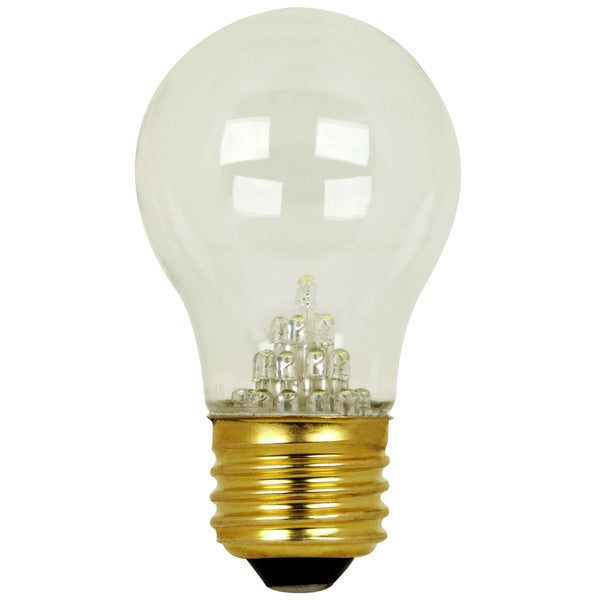Feit Electric BPA15/CL/LED/RP 2 Watt Clear 9 LED Type A15 Light Bulb