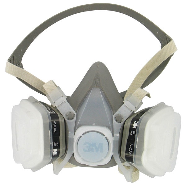 3M 53P71PC1-B Paint Spray & Pesticide Respirator