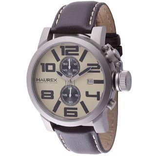 Haurex Italy Turbina II Men's Beige Watch