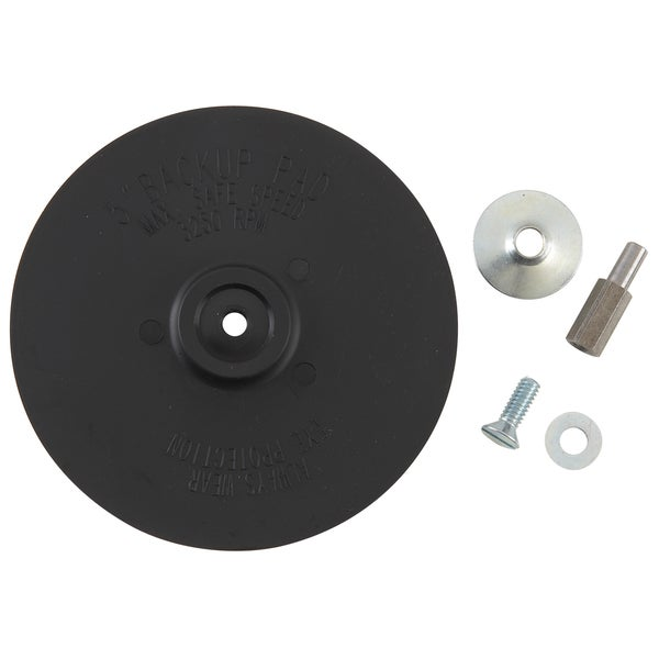 """Vermont American 16986 Rubber Backing Pad 5"""""""