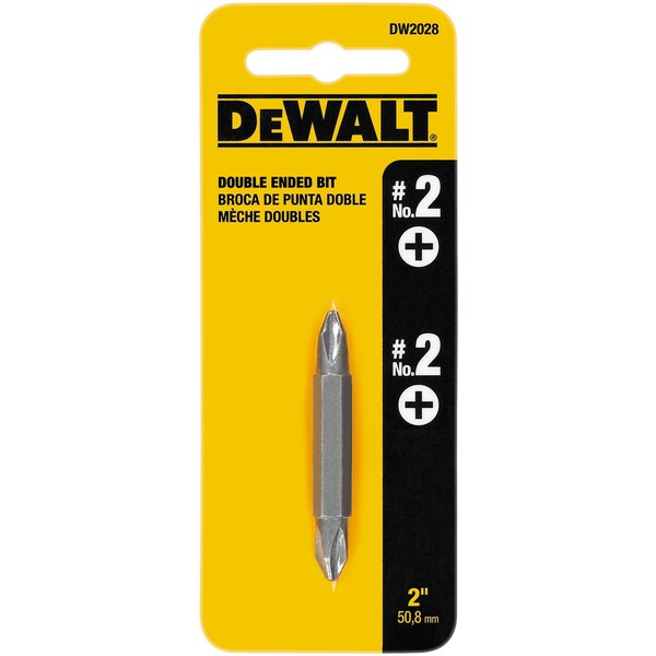DeWalt DW2028 #2 Double Ended Power Insert Bit