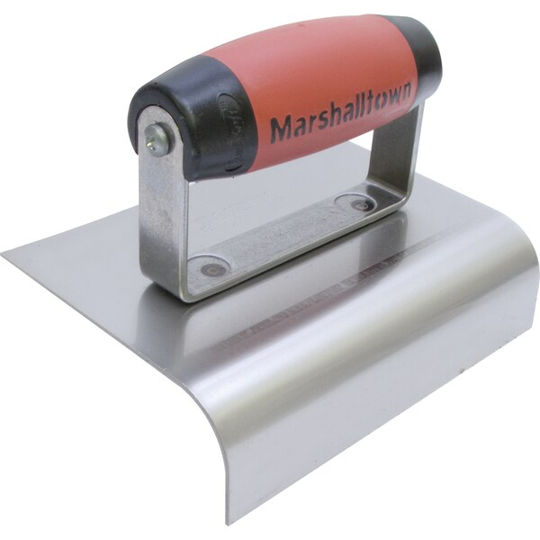 "Marshalltown 4268D 6"" X 4-3/4"" Stainless Steel Curb Edger"