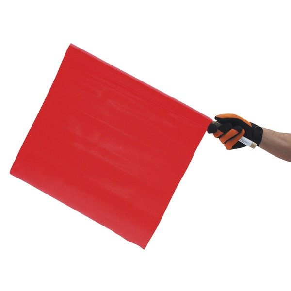 "SAS Safety Corporation 9960 18"" Fluorescent Orange Safety Flag"