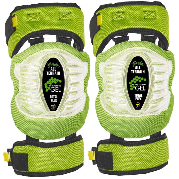 Tommyco 30021 Garden Honeycomb GEL Total Flex Knee Pad 2-count