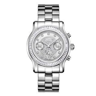 JBW Stainless Steel Women's 'Laurel' J6330B Diamond Watch
