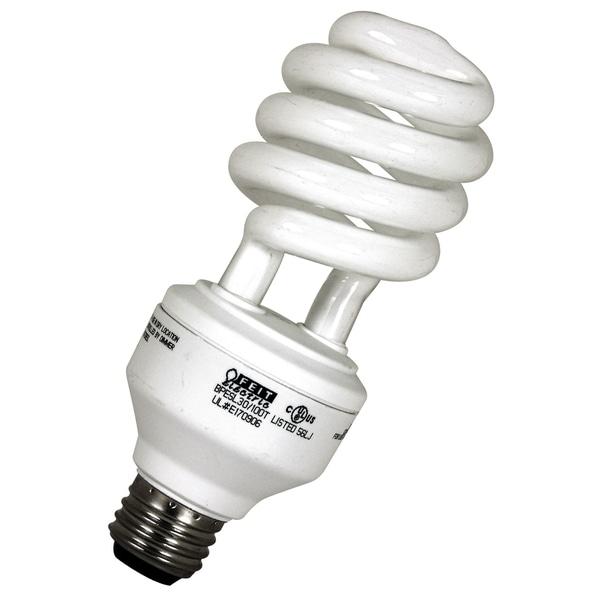 Feit Electric BPESL30/100T 30 Watt/70 Watt/100 Watt ECOBulb CFL 3-Way Spiral Bulb