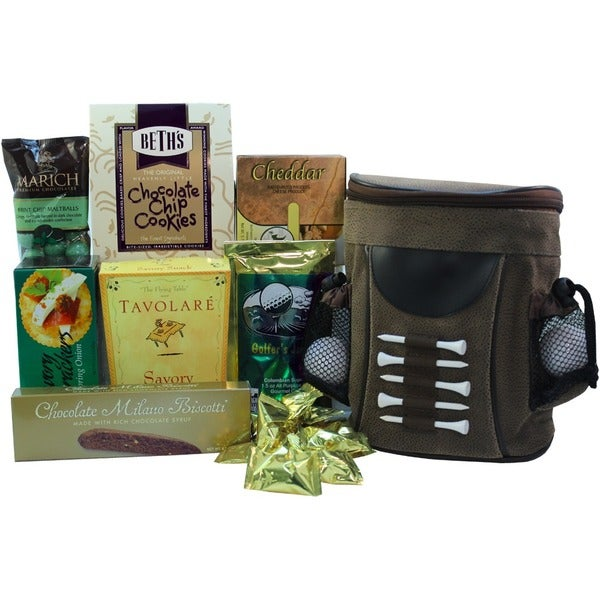 Gift Baskets Duffers Delight Snack Pack Insulated Cooler Gift Basket