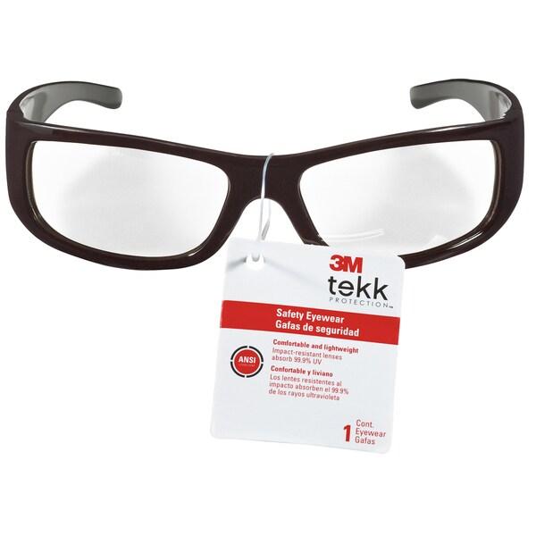3M 90190-00000 Black 3m Tekk Protection Safety Eyewear