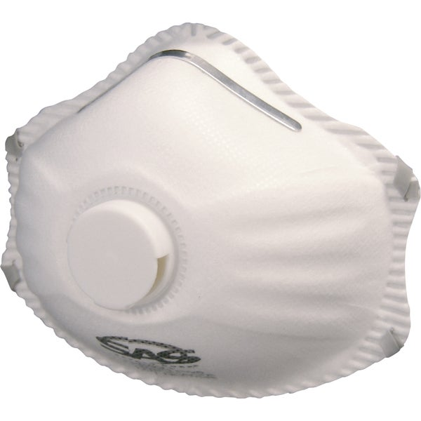 SAS Safety Corporation 8621 R95 Valved Particulate Respirator 10-count