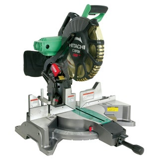 "Hitachi C12FDH 12"" Dual Compound Miter Saw With Laser Marker"