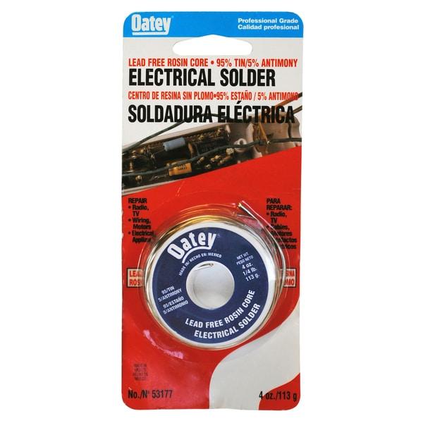 Oatey 53177 Lead Free Rosin Core Wire Solder