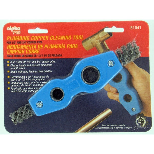 Alpha Fry AM51041 4 In 1 Copper Pipe Cleaning Tool