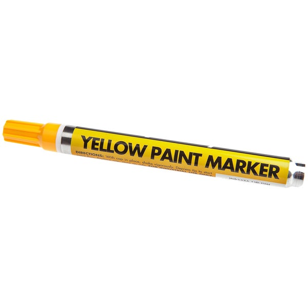 Forney 60315 Yellow Paint Marker