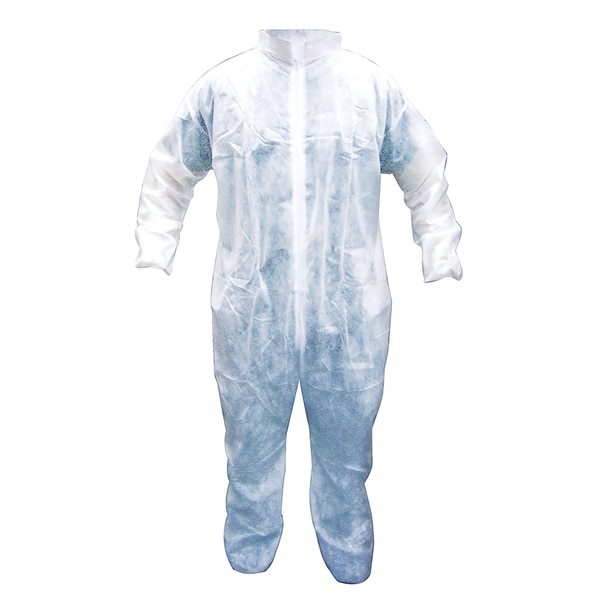 SAS Safety Corporation 6844 Extra-Large Polypropylene Disposable Coveralls 18042828