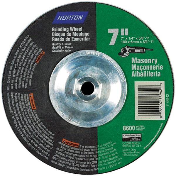 Norton 75942 7 Quot X 14 Quot Grinding Wheel 18569788