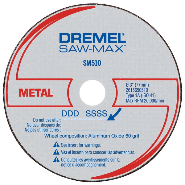 "Dremel SM510C 3"" Metal Cut-Off Wheel"