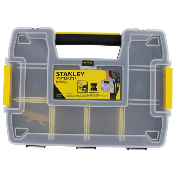 """Stanley STST14021 11-1/2"""" X 2-1/2"""" X 8-1/2""""SortMaster Light Organizer"""