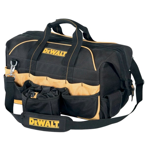 "CLC Work Gear DG5553 18"" Pro Contractors Closed Top Tool Bag"
