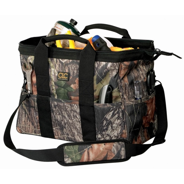 "CLC Work Gear 1165M 16"" Explorer Mossy Oak Bigmouth Tool Bag"