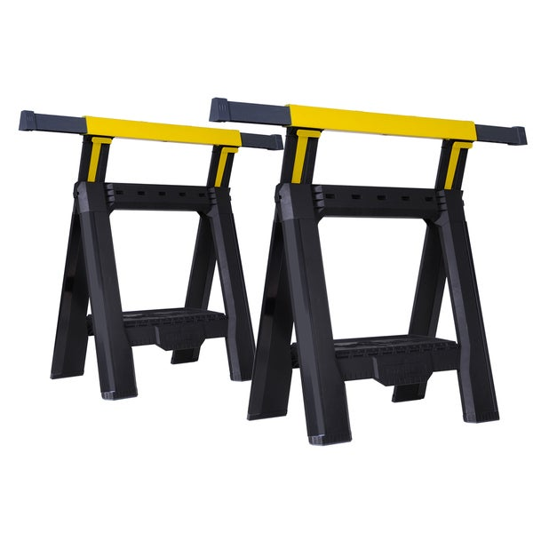 Stanley STST60626 Adjustable Sawhorses 2-count