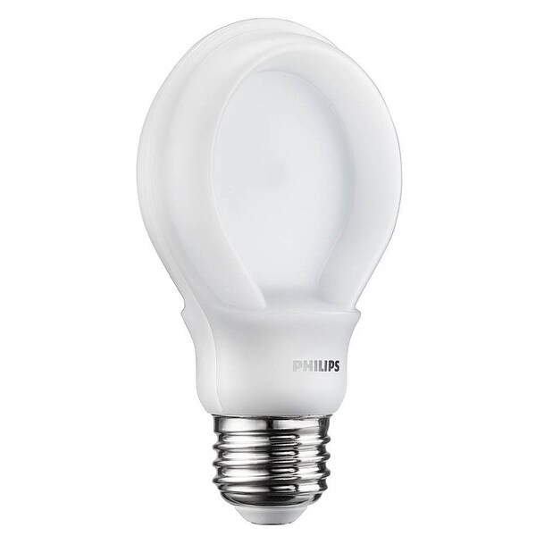 Phillips 433201 8 Watt Soft White SlimStyle A19 Dimmable LED Bulb