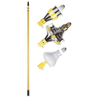 Bayco LBC-600SDL 11' 3-Section Steel Pole Light Bulb Changer 4 Piece Kit
