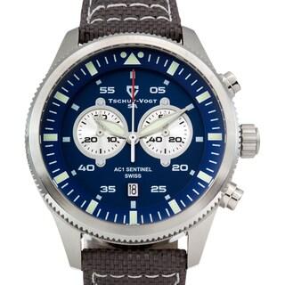 Tschuy - Vogt SA AC1 Sentinel Men's Ronda 5021.D Sapphire Intense Superluminova Swiss Chronograph Watch