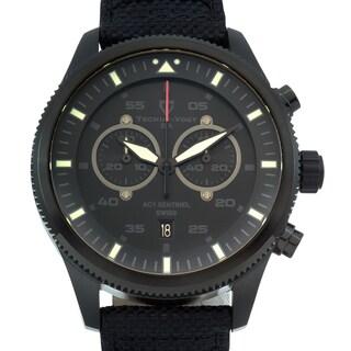 Tschuy Men's Vogt Sentinel Sapphire Crystal Superluminova Swiss Chronograph Watch